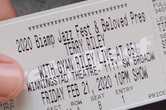Terry Riley ticket